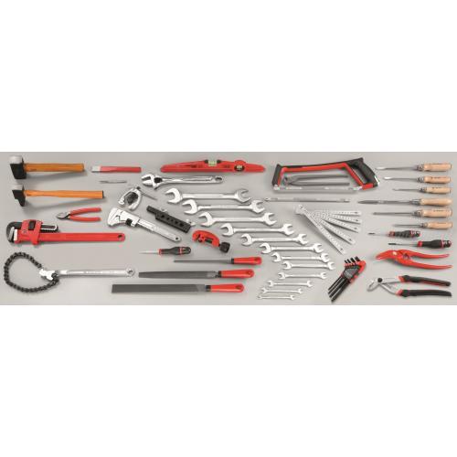 CM.SG3A - zestaw 61 narzędzi dla hydraulika