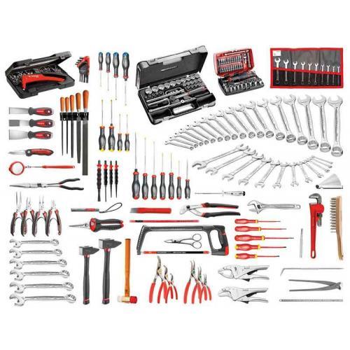 CM.140A - zestaw 200 narzędzi do utrzymania ruchu w przemyśle