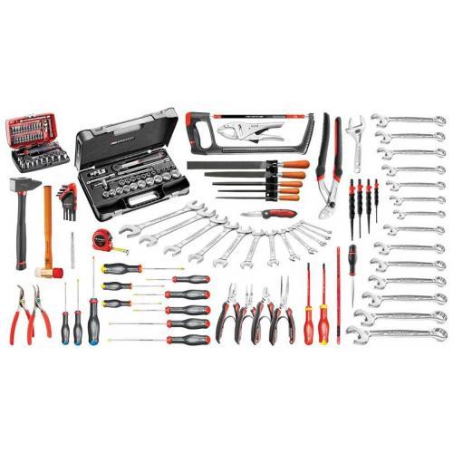 CM.120A - zestaw 147 narzędzi do utrzymania ruchu w przemyśle