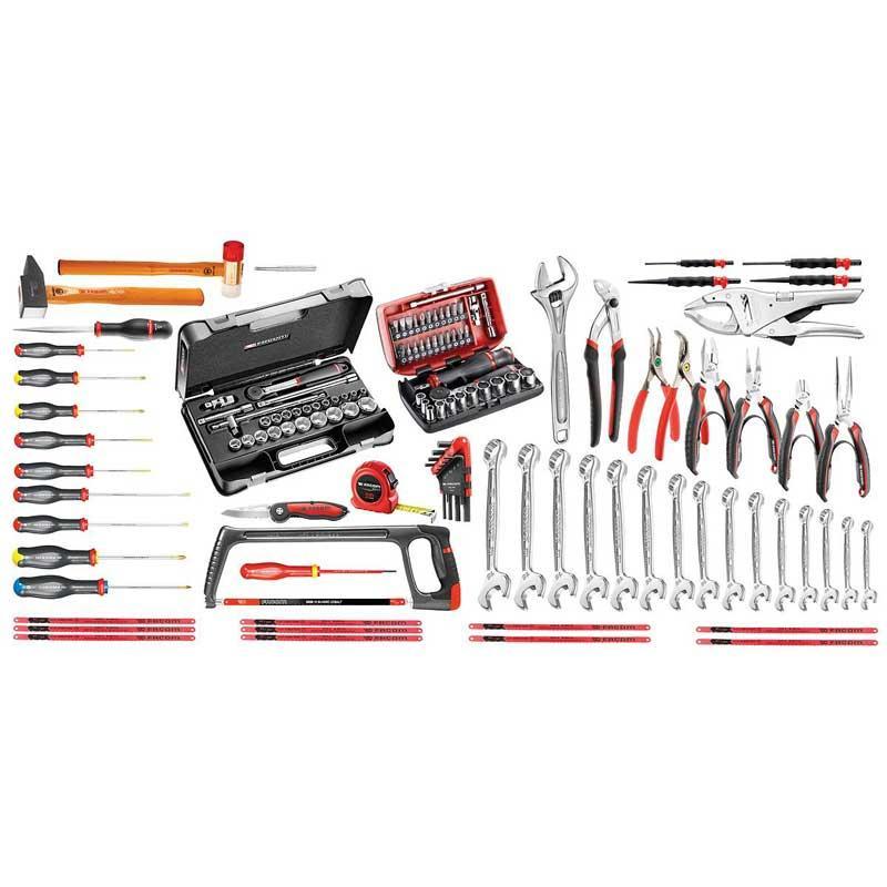 CM.110A - zestaw dla mechanika 122 narzędzia