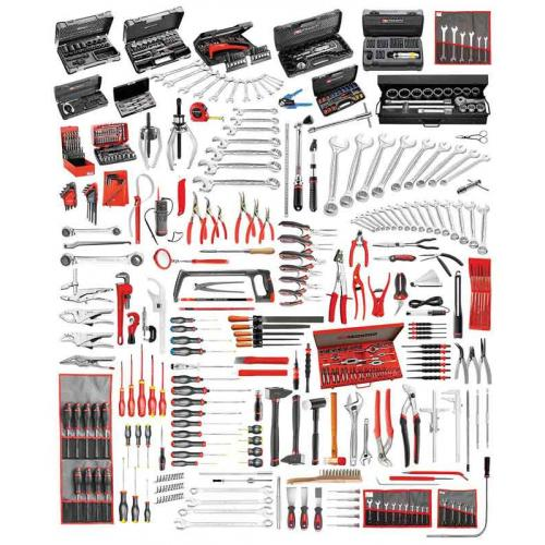CM.160A-F - CM.160A TOOL SET WITH FOAM MODULES