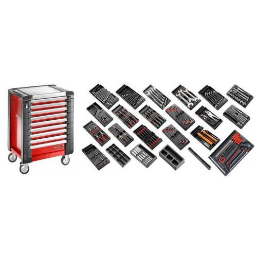 CM.230 - zestaw 230 narzędzi do mechaniki ogólnej z wózkiem JET.9M3