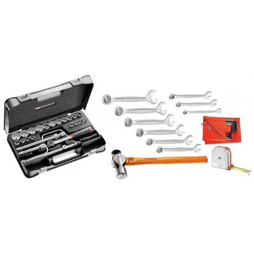 S.P1 - 46-piece set of inch tools