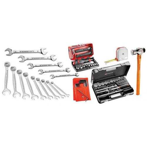 SR.P2 - 93-piece set of inch tools