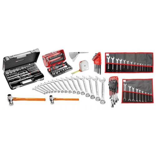 SR.P4 - 131-piece set of inch tools