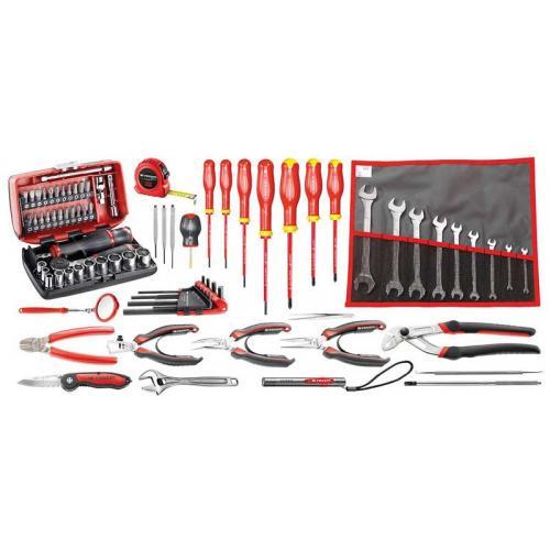 CM.EM40A - zestaw 80 narzędzi serwisowych do elektromechaniki
