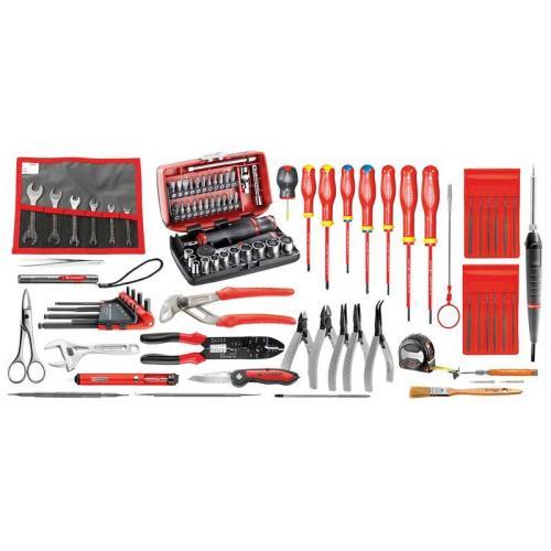 CM.EL32 - zestaw 94 narzędzi do elektroniki – metrycznych
