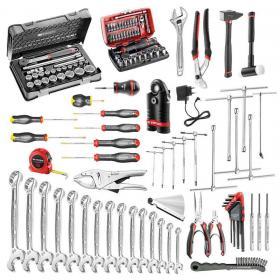 CM.MO1 - zestaw 118 narzędzi do obsługi pojazdów jednośladowych i motocykli