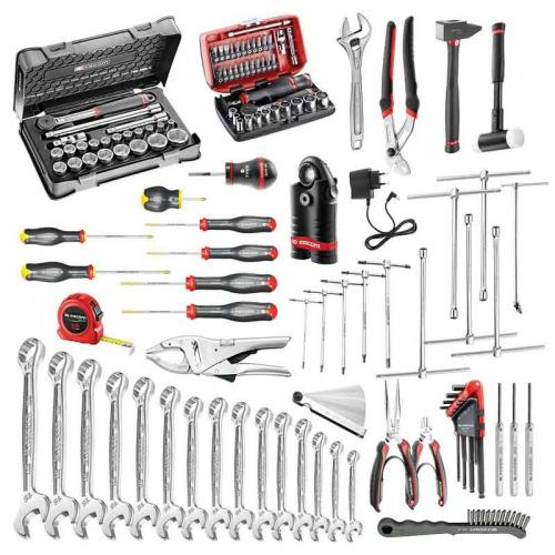 CM.MO1 - 118-piece set of motorcycle maintenance tools