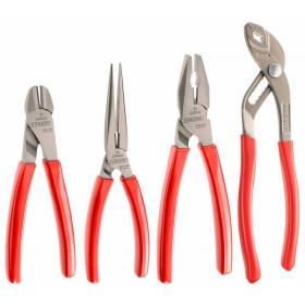 GJP.A1 - 4 PC PLIER MAINTENANCE SET PVC