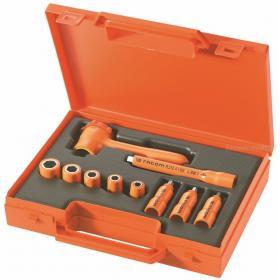 R.400AVSE - zestaw 10 narzędzi izolowanych w kasecie, 4 mm - 12 mm