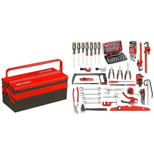BT11A.M210A - CM.210A tools set with a metal toolbox BT.11A