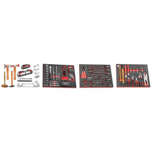 CM.CAR - 128PCS BODYWORK TOOL SET