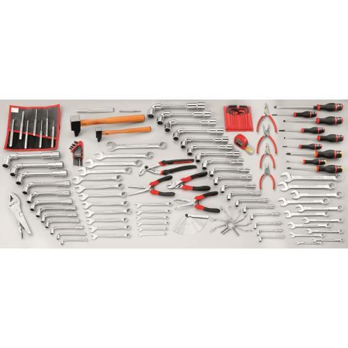 CM.JA - zestaw 118 narzędzi do obsługi urządzeń do utrzymania terenów zielonych