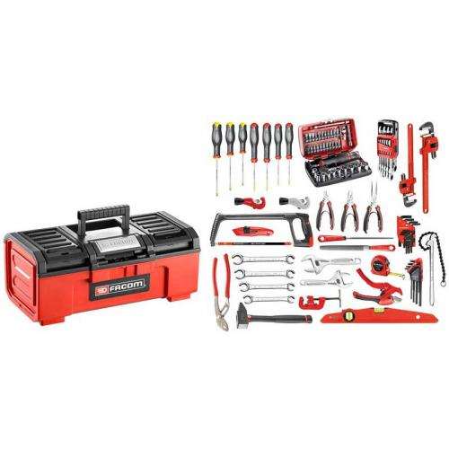 BPC16N.M210A - CM.210A tools set with plastic toolbox BP.C16N