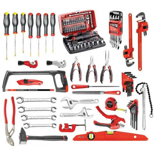 CM.210A - zestaw 94 narzędzi dla hydraulików