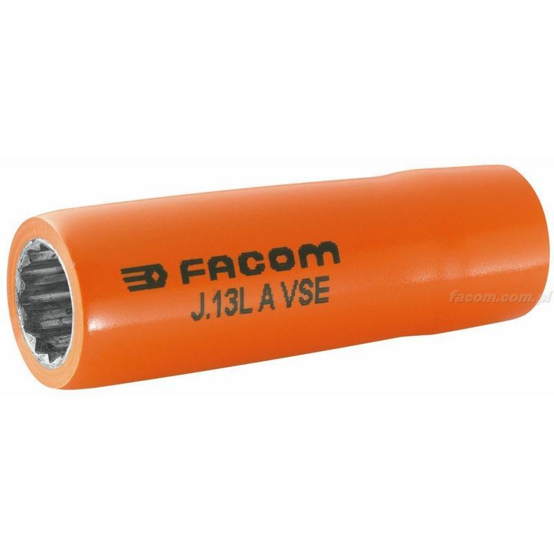 "J.13LAVSE - nasadka 3/8"" 12-kątna długa, 13 mm"