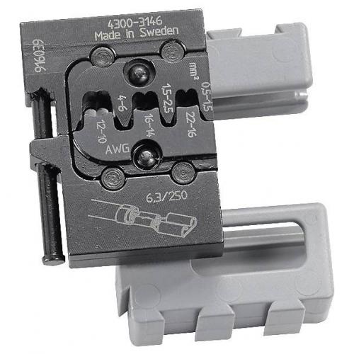 821464 - MCT DIE OPEN-BARREL TERMINALS 0.5