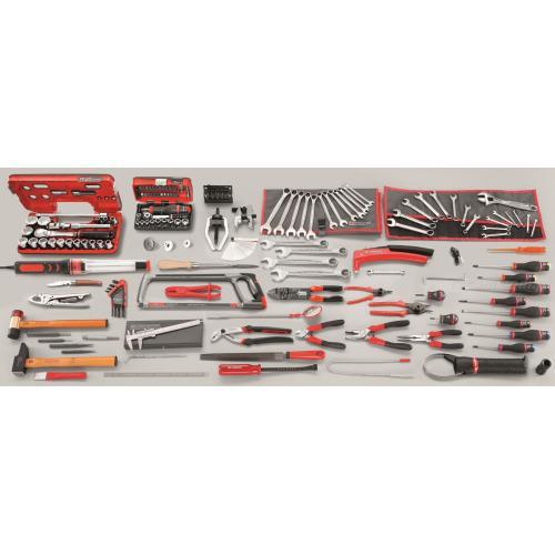 CM.A2 - zestaw 153 narzędzi metrycznych dla mechanika samochodowego
