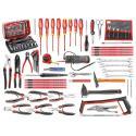 CM.E17 - zestaw 101 narzędzi dla elektryka – metrycznych