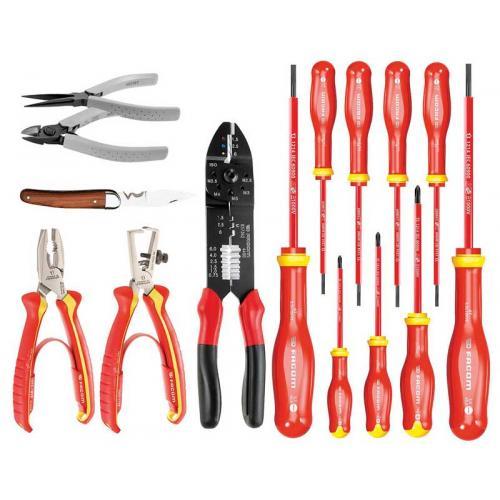CM.SE - zestaw 15 narzędzi dla elektryka