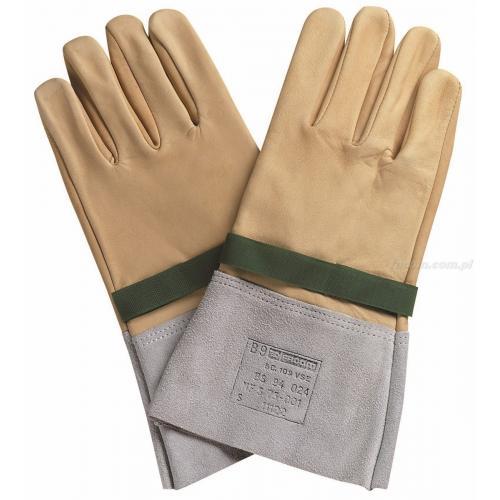 BC.109VSE - uzupełniające rękawice ochronne, rozmiar 9 mm (B)