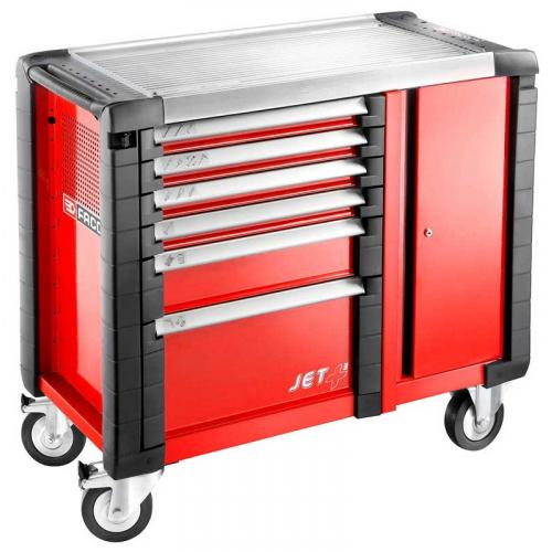 JET.T6M3 - MOBILE BENCH JETPLUS 6D RED
