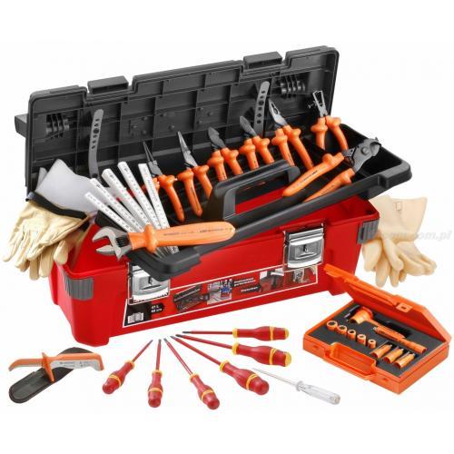 2185C.VSE - zestaw 28 narzędzi izolowanych w skrzynce