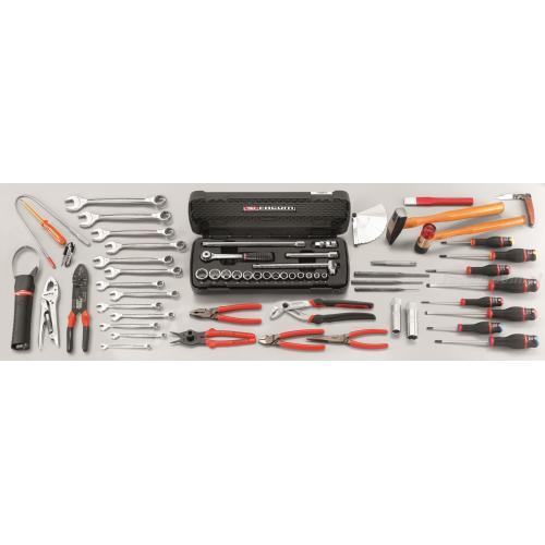 CM.A1 - zestaw 42 narzędzi metrycznych dla mechanika samochodowego