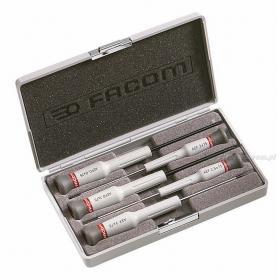 AEF.J5 - zestaw 5 wkrętaków Micro-Tech® do śrub z rowkiem i Pozidriv®, 2 - 3 mm i PZ0 - PZ1
