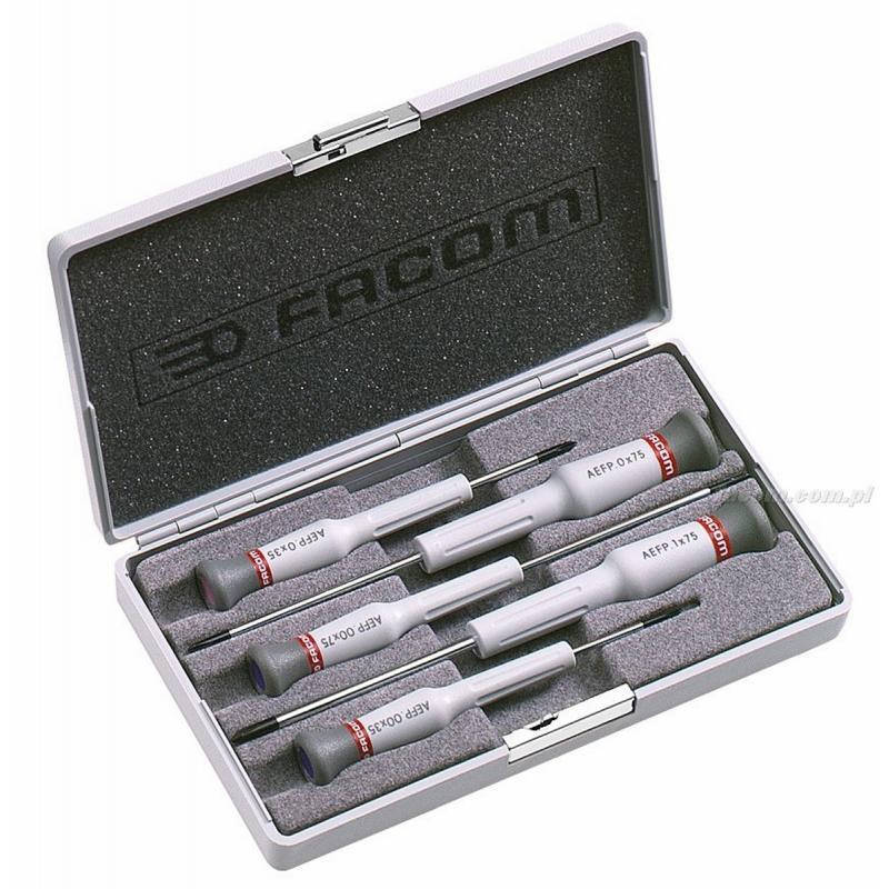 AEFP.J1 - zestaw 5 wkrętaków Micro-Tech® do śrub Phillips®, PH00 - PH1