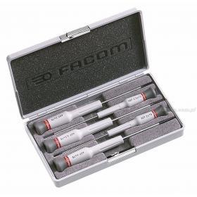 AEF.J2 - zestaw 5 wkrętaków Micro-Tech® do śrub z rowkiem, 2 - 4 mm