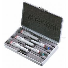 AEX.J1 - zestaw 5 wkrętaków Micro-Tech® do śrub Torx®, T6 - T10