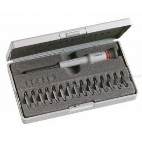 AEM.J1 - zestaw 16 narzędzi Micro+Tech® - wkrętaki i końcówki