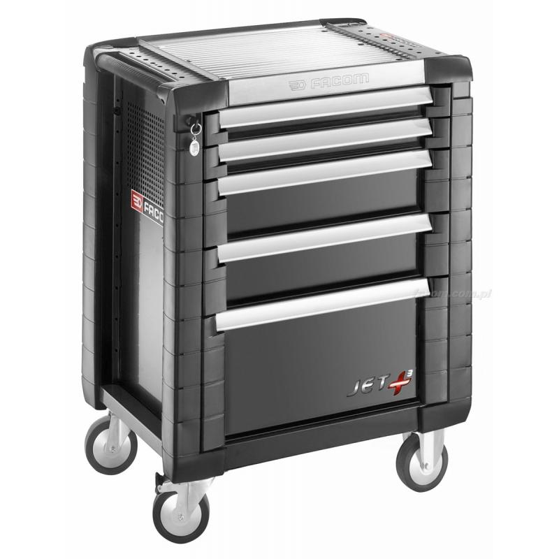Wózek JET+ 5 szuflad - 3 moduły na szufladę