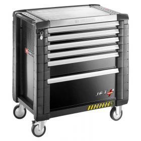 JET.6GM4S - Wózek Jet + z 6 szufladami, bezpieczny