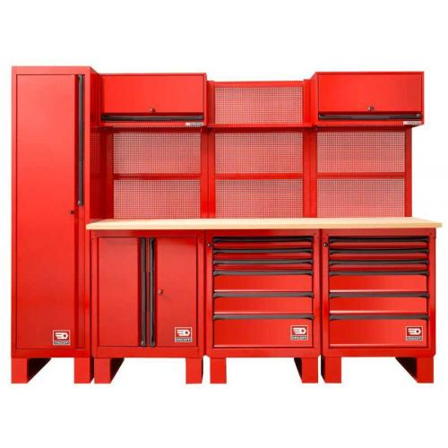 RWS-6 - Set of ROLL workshop system, red