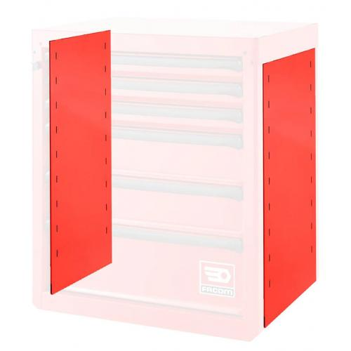 RWS-MASK - Pair of masking sides, red