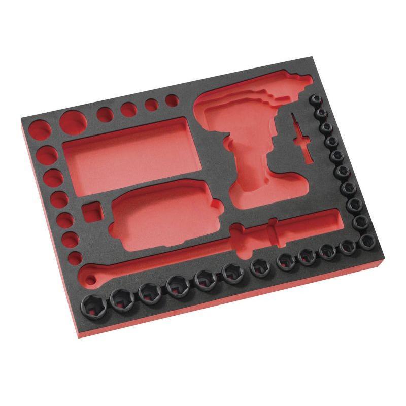 MODM.ROUEPB - moduł piankowy z 21 nasadkami 1/2'