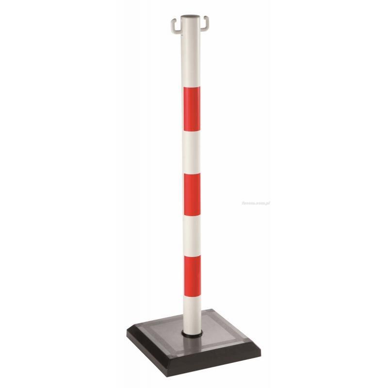 EV.BAP-RN - słupki sygnalizacyjne czerwono/białe, 91 cm