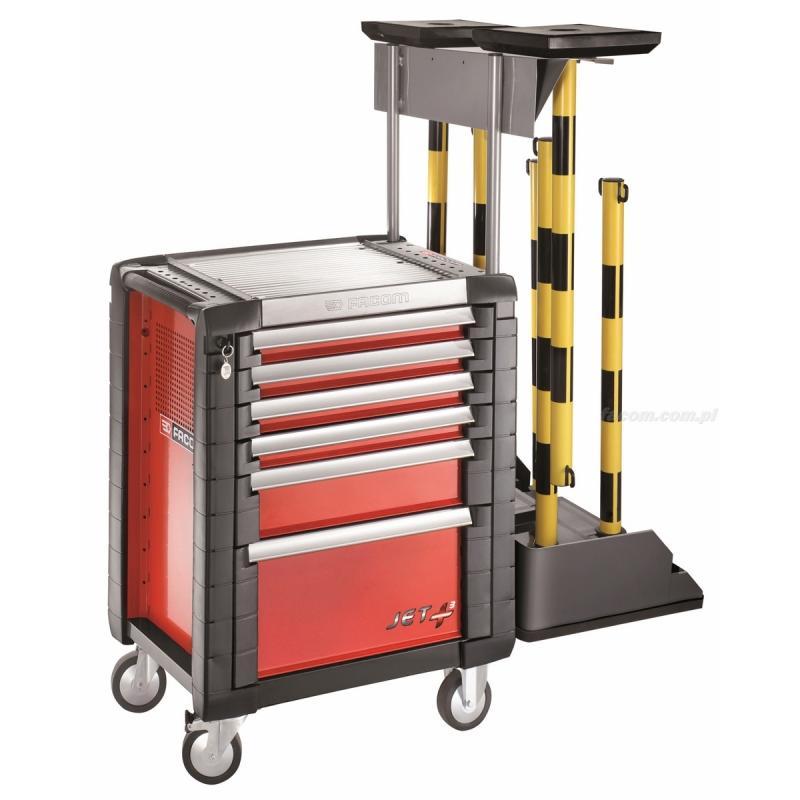 EV.JET-KIT - wózek do prac elektrycznych, 6 szuflad