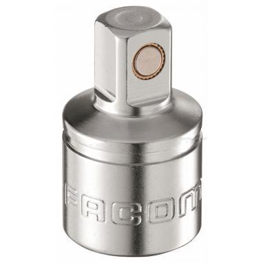 """MB.S10 - końcówka magnetyczna do korków spustowych 3/8"""", kwadratowa trzpieniowa, 10 mm"""