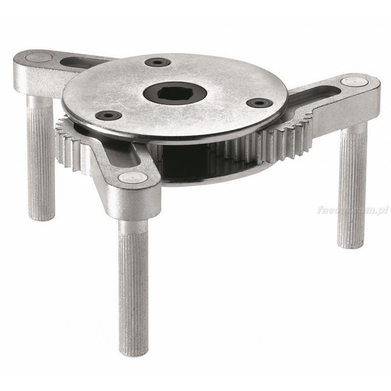 D.151PL - klucz samozaciskowy do filtrów oleju samochodów ciężarowych, 95 - 165 mm