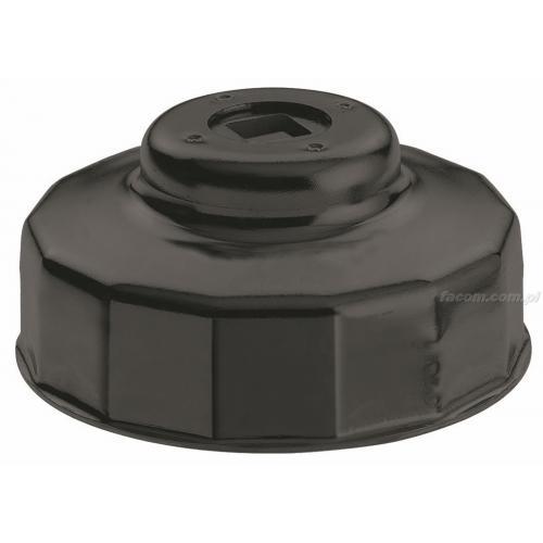 D.160 - klucz kloszowy wieloboczny, filtr 15-kątny Ø 74,0 mm