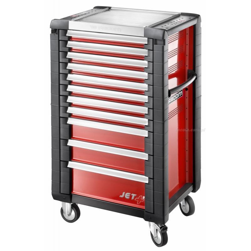 Wózek JET+ 11 szuflad - 3 moduły na szufladę
