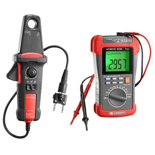 714A-1PB - zestaw: multimetr 714A i amperomierz cęgowy 720.P30