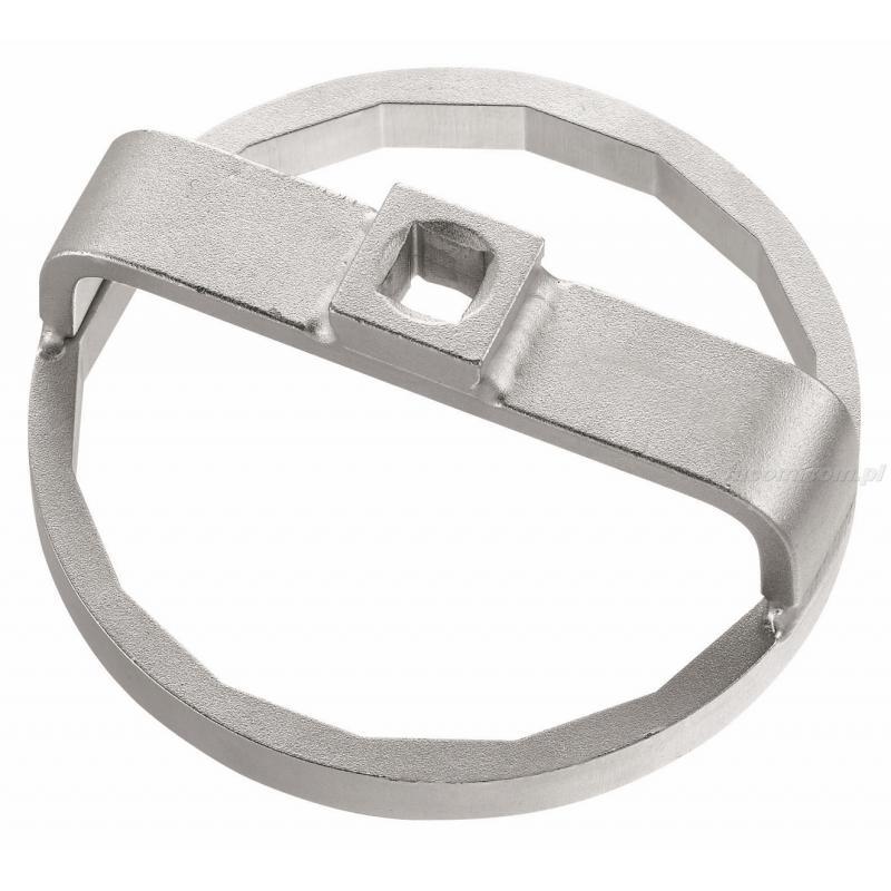 DE.75-16 - klucz kloszowy wieloboczny do korków kompozytowych filtrów oleju, filtr 16-katny Ø 75 mm