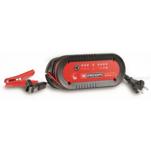 BC124A - prostownik do akumulatorów motocyklowych i do samochodów osobowych 12 V, 3 - 80 Ah