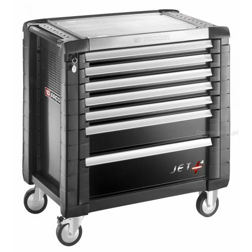 JET.7GM4 - ROLLCAB JETM4 7 DRAWERS BLACK