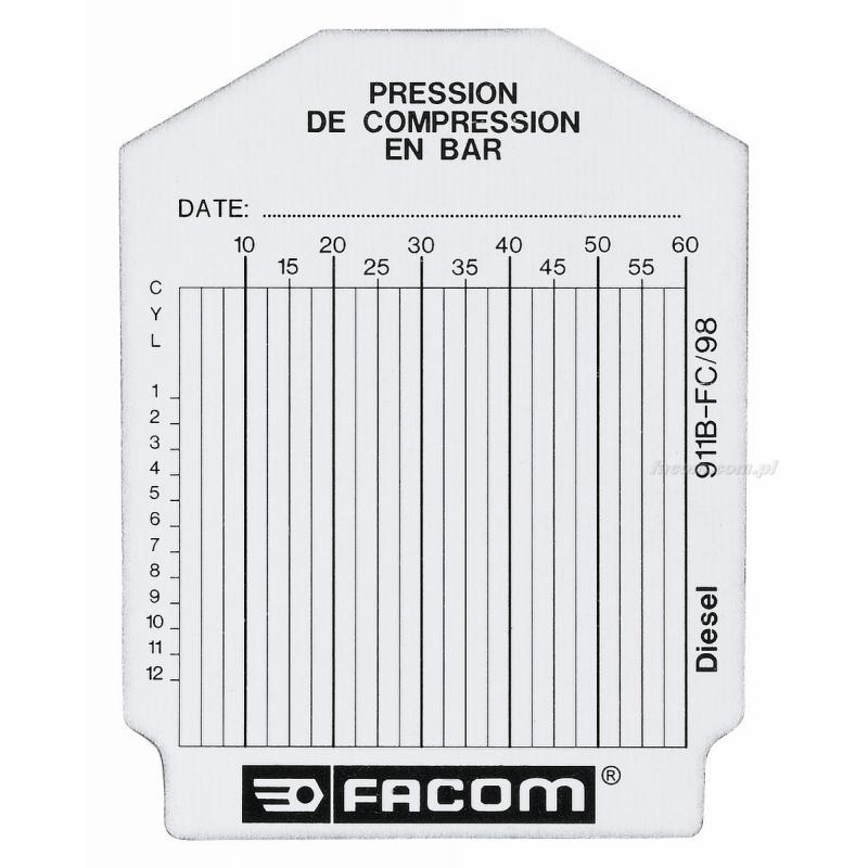 911B.FC - teczka 100 kart kontrolnych do silników wysokoprężnych.